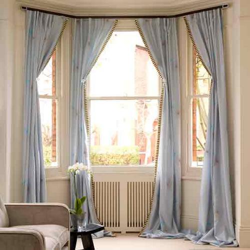 腰高窓に適したカーテン丈 サイズ 海外のカーテン housetohome