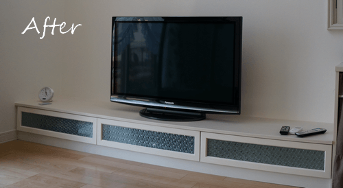 扉の作り方 DIY テレビボード