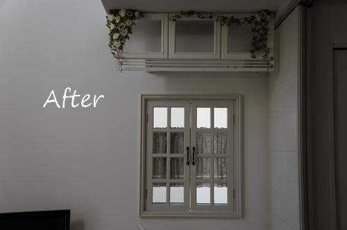 フレンチ風飾り窓 窓枠 DIY 作り方