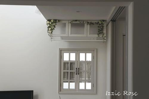 室内用木製エアコンカバーDIY作り方:フレンチ風 アンティーク風