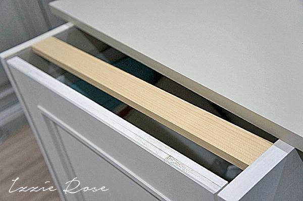 アトリエの作業台DIY 扉の付け方
