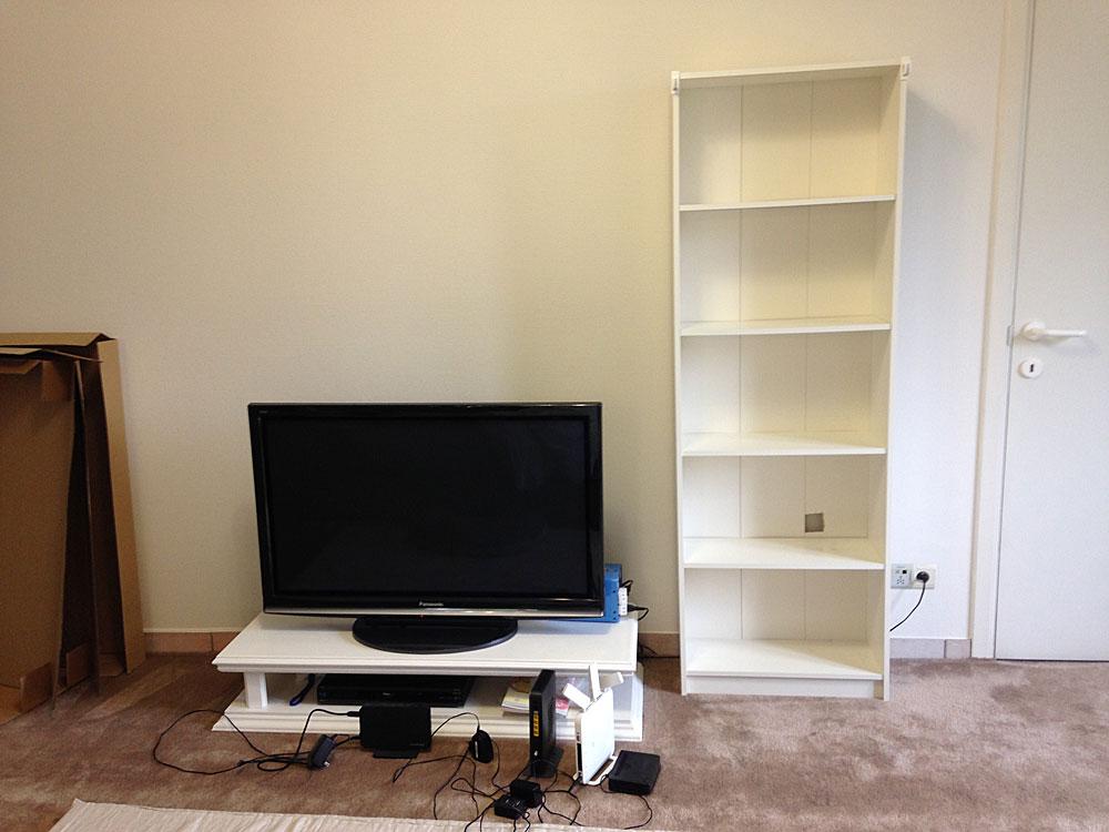 IKEAの本棚GERSBYをリメイク