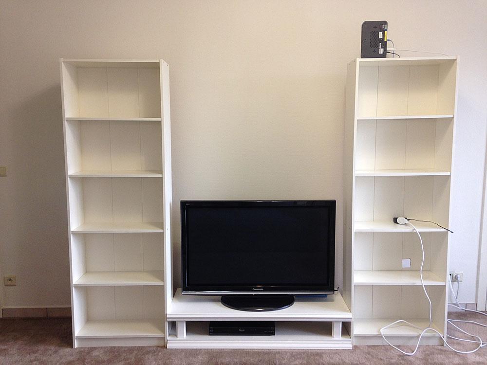 IKEAの本棚GERSBYを2つ並べる