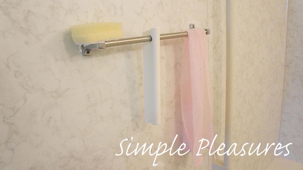 風呂の拭き上げ スキージー