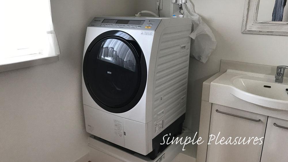 ドラム式乾燥機で干さない&洗剤自動投入で時短が便利!