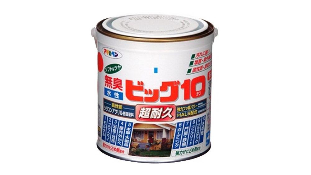 半ツヤ アサヒペン 水性塗料:ビッグ10の購入レビュー 口コミ