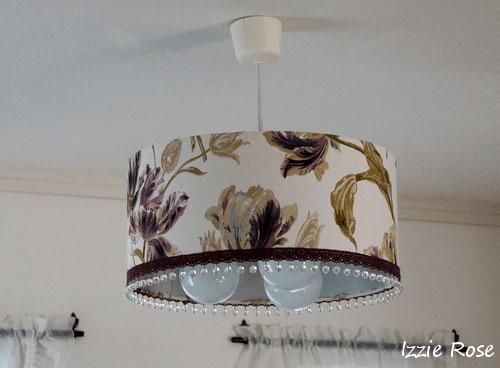ランプシェードの布を張替える方法:DIYでリメイク