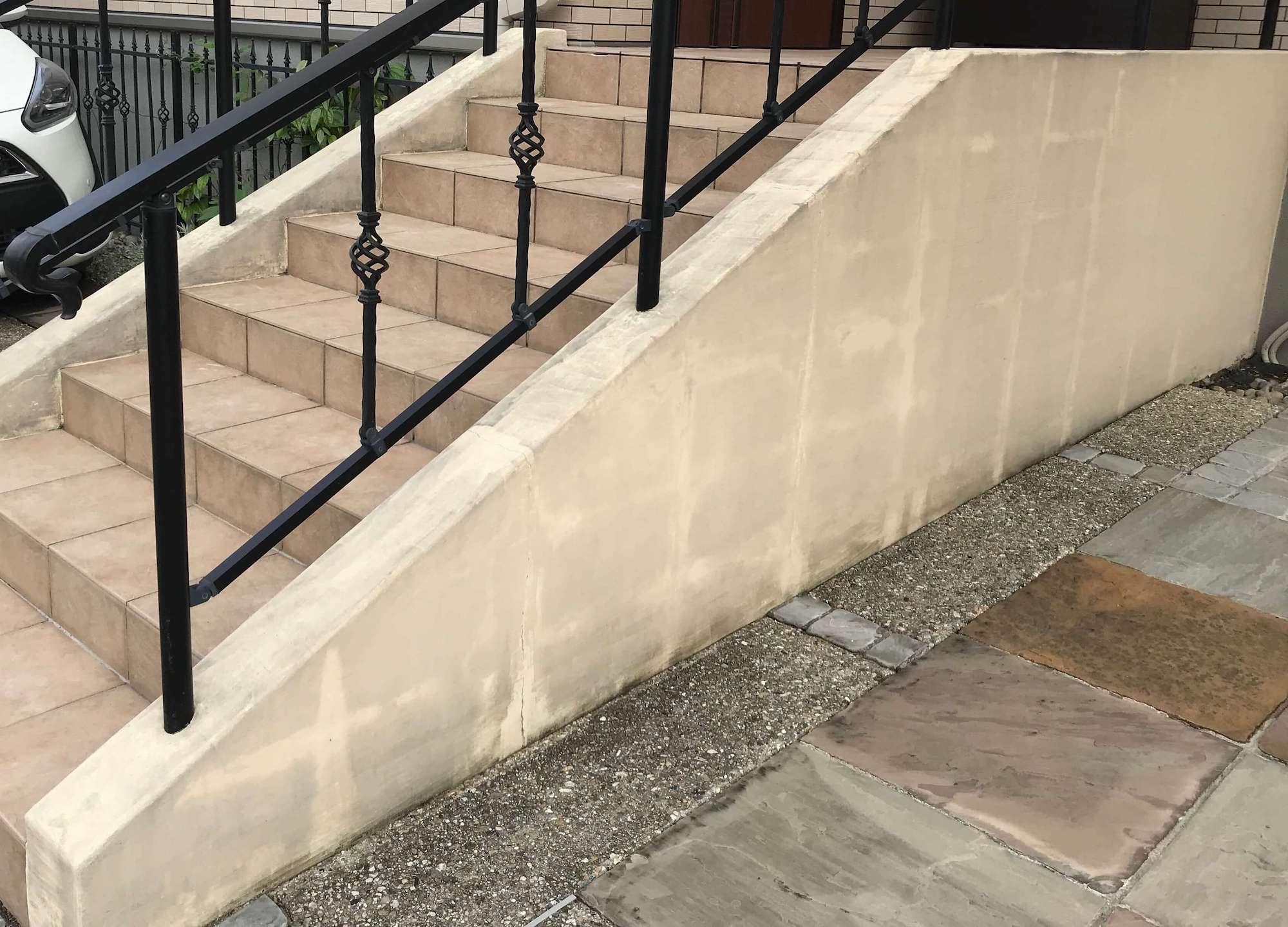 塗り壁 ユニソンカベックスuk35 塗り替え前 リフォーム前